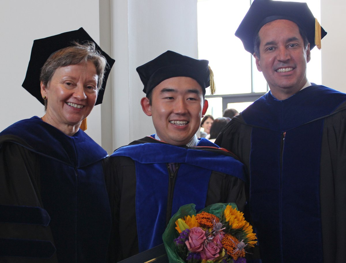 Photo from 2014 commencement