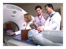 Students with Radiation Simulator