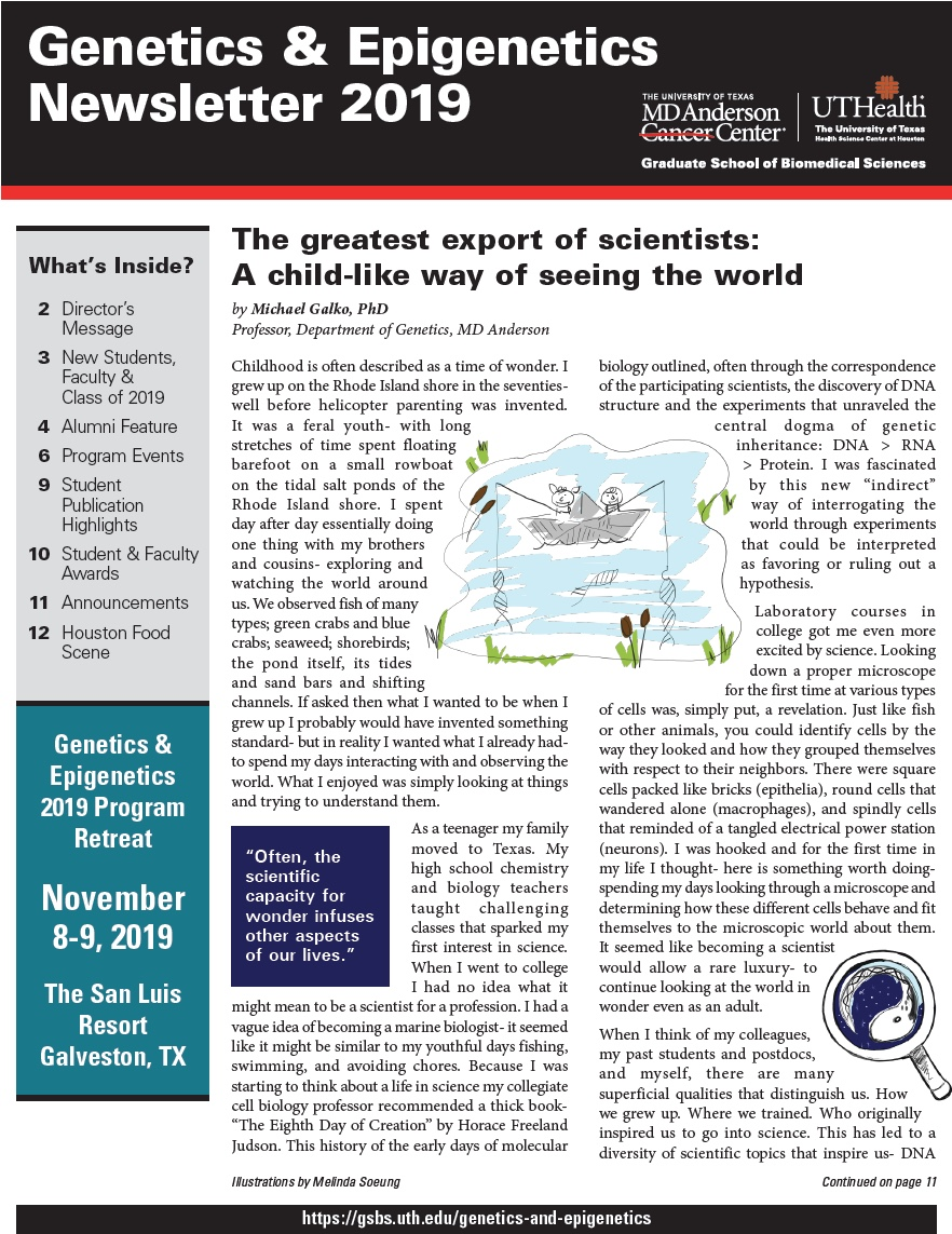 GE newsletter cover image file 2019